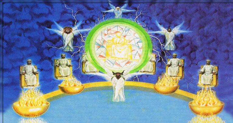 Tout comme Jésus, les fidèles martyrs du 1er siècle ont été ressuscités « esprits » et composent la classe des 24 anciens assis sur des trônes autour du trône de Dieu afin de régner avec le Christ. Ils règneront avec lui sur la terre (Ap 5 :9,10).