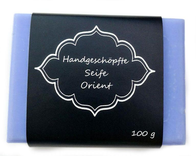 personalisierbare Seifenbanderolen - mit Klebepunkten, Geschenkbanderole