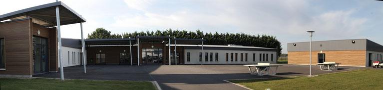 Nouveaux locaux de la MFR du Val de l'Indre à Noyant-de-Touraine