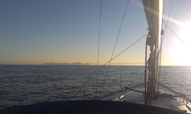 Professional yacht delivery work last year completed trip from Mallorca to La Coruna by Reliance Yacht Service