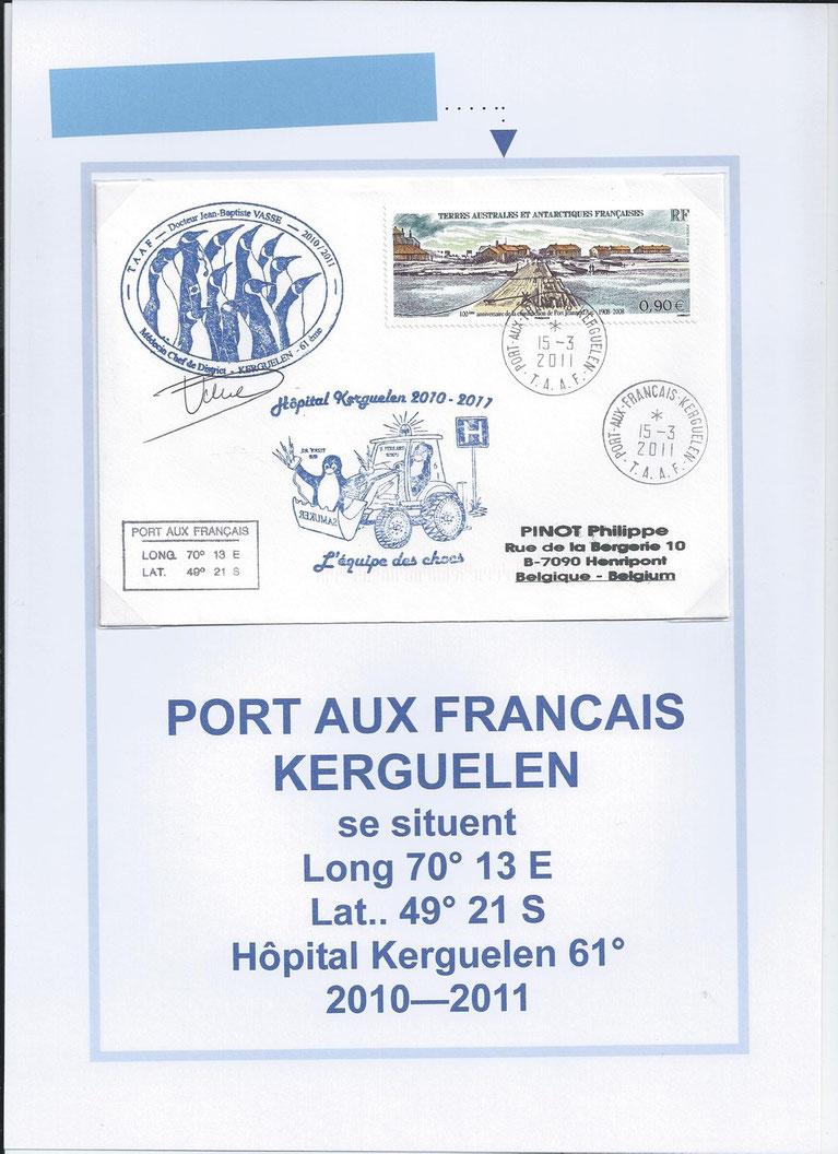 HÔPITAL DES KERGUELEN