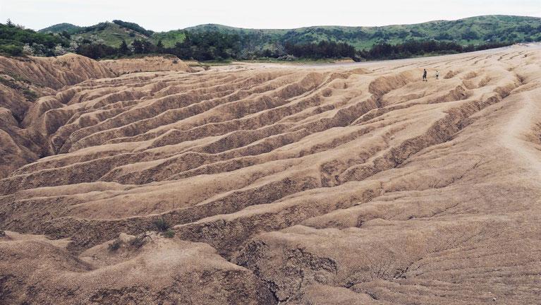 bbigousteppes roumanie volcan boue
