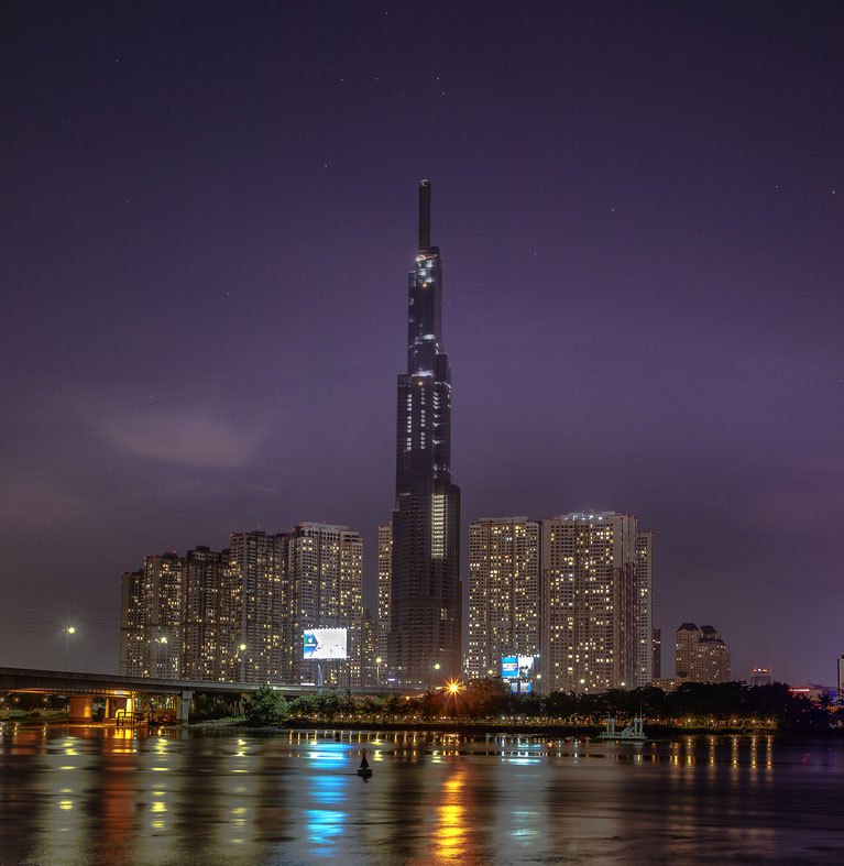 landmark 81 Ho Chi Minh City, Saigon, Vietnam