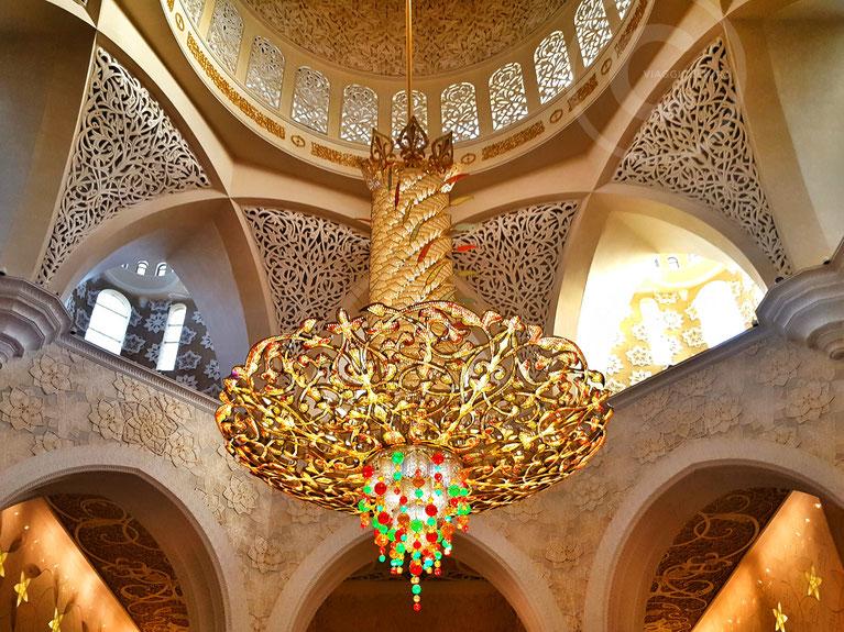 Interno della Moschea dello Sceicco Zayed, Abu Dhabi