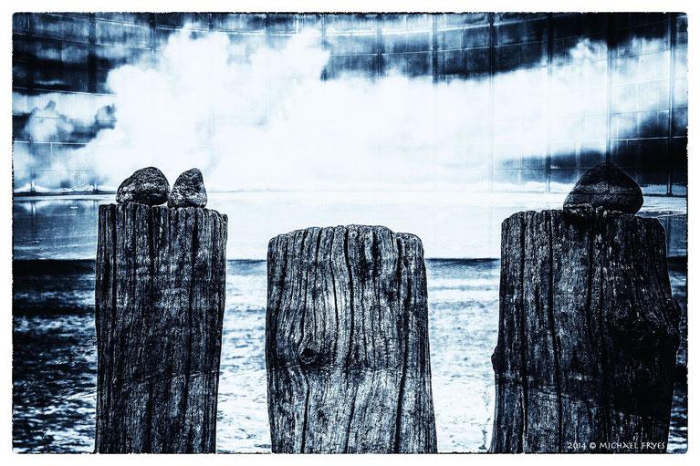 Drei am Meer.........