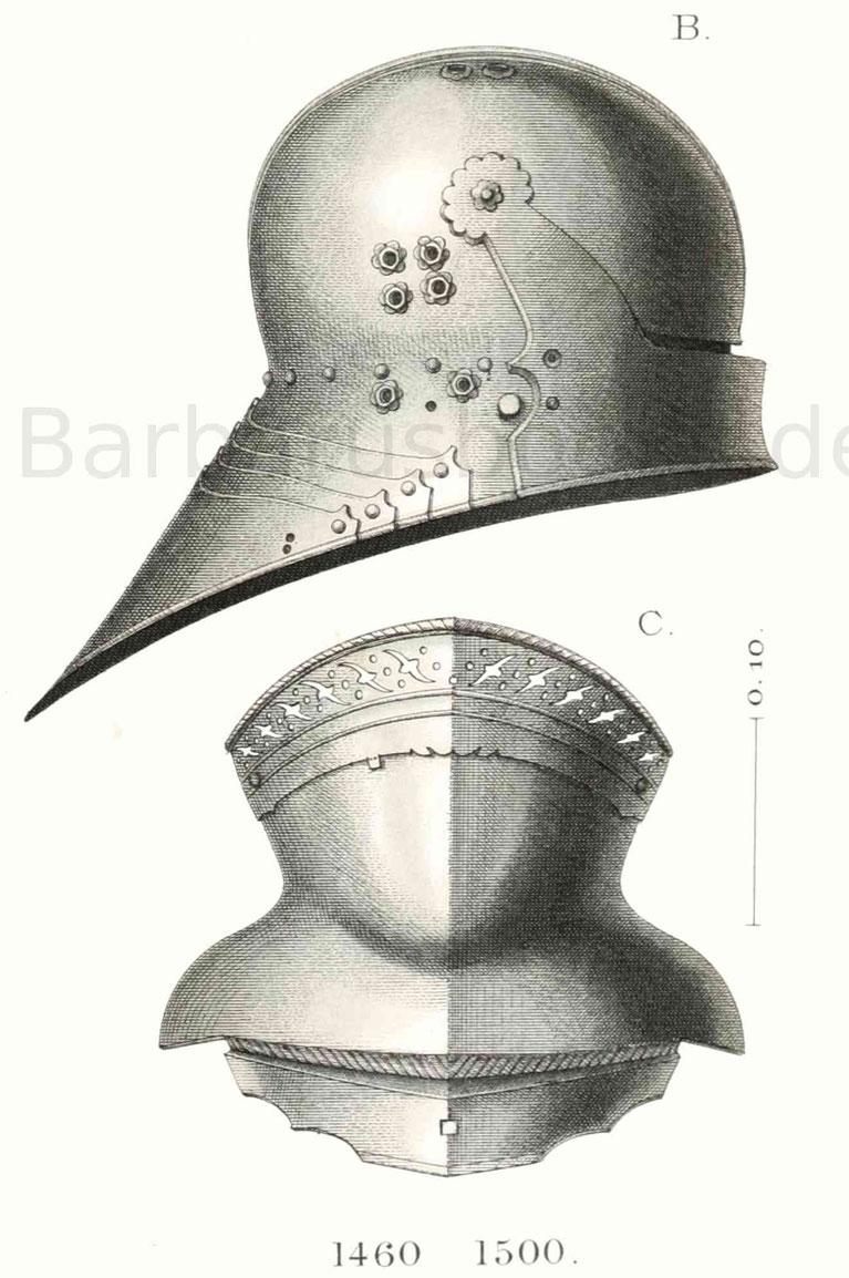 Deutscher Helm Mittelalter