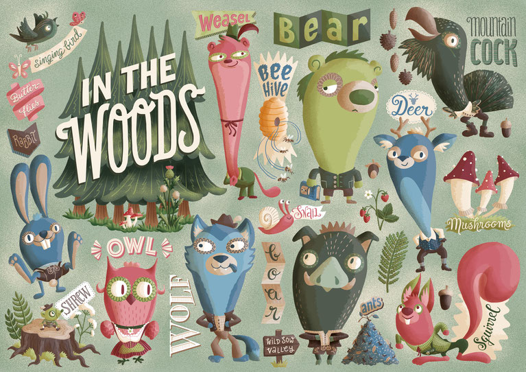 Illubelle - Julia Kerschbaumer - In the Woods
