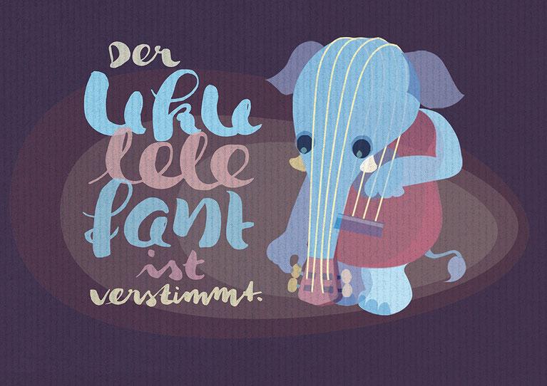 Illubelle - Julia Kerschbaumer - Der Ukulelefant ist verstimmt
