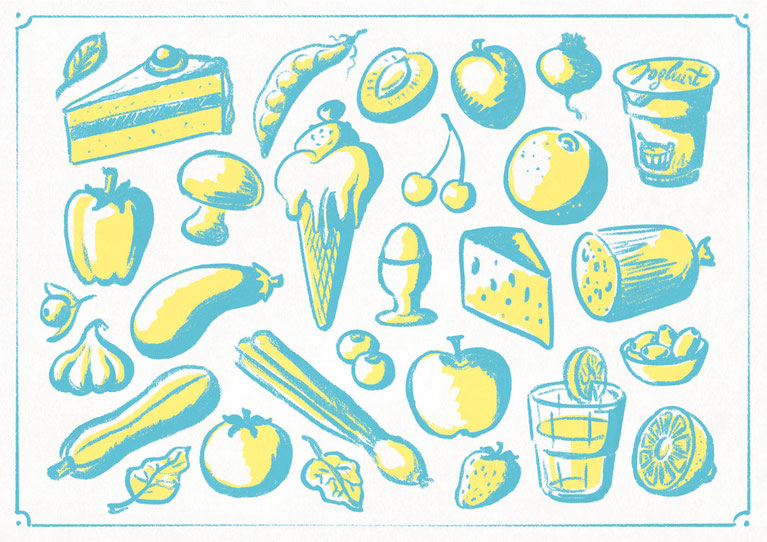 Illubelle - Julia Kerschbaumer - Food Board loose style