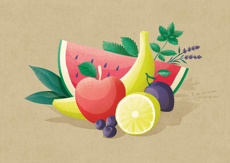 Illubelle - Julia Kerschbaumer - Fruit composition