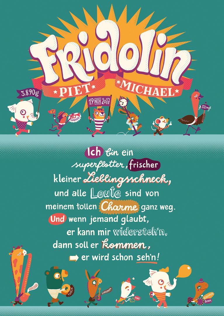 Illubelle - Julia Kerschbaumer - Fridolin Character board