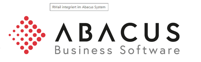 Abacus 2020 Generation G4 - RMail integriert im Abacus System