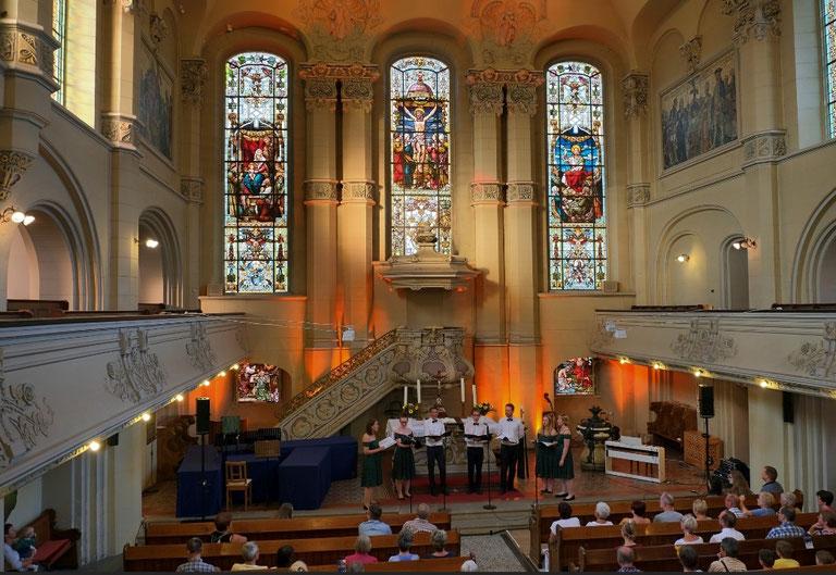 Fête de la Musique 2019, Salvatorkirche;  Fotograf: Bernd Krekel; Quelle: www.meinanzeiger.de