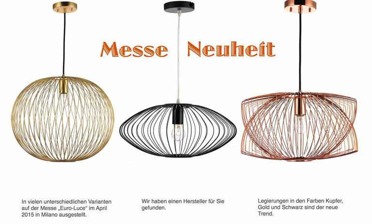 Drahtleuchten - der neue Trend in der Designerbeleuchtung