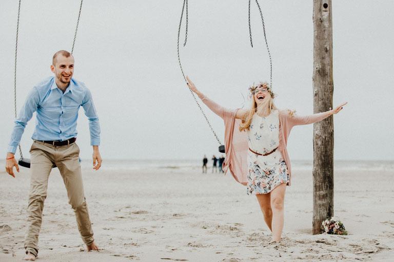 Fotograf Sankt Peter Ording, Verlobungsshooting am Strand