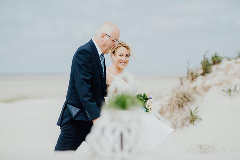 Heiraten am Strand an der Nordsee, Hochzeitsfotograf