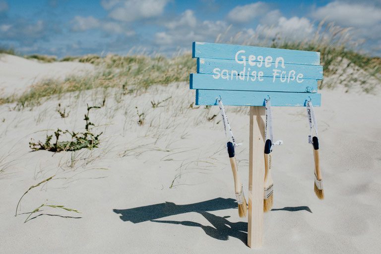 Heiraten am Strand in Sankt Peter Ording.