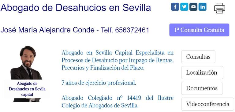 Abogado de Desahucios en Sevilla - Locales, Puestos de Mercado