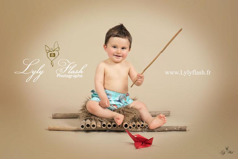 photographe bébé enfant var pecheur