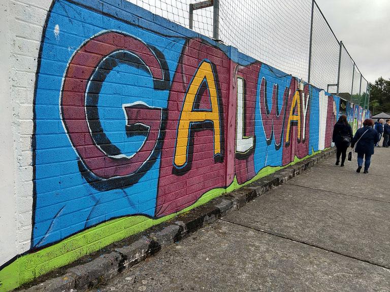 Eamonn Deacy Park Galway Graffiti