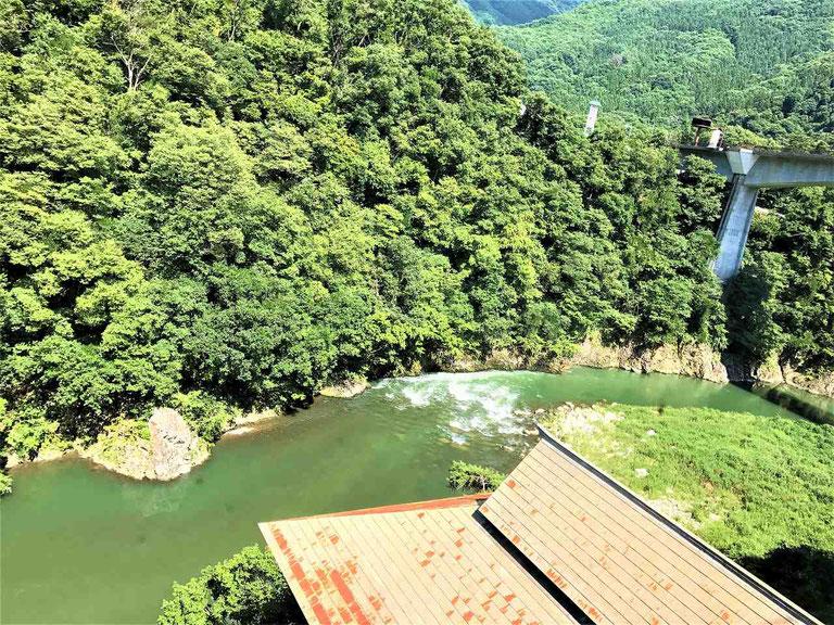 阿賀川が見えます