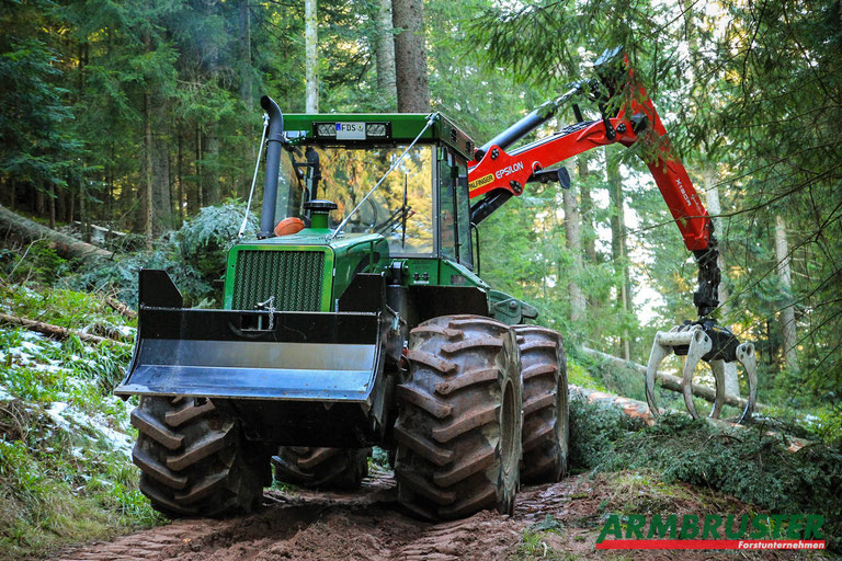 HSM 904 H Forstunternehmen Armbruster Epsilon Palfinger