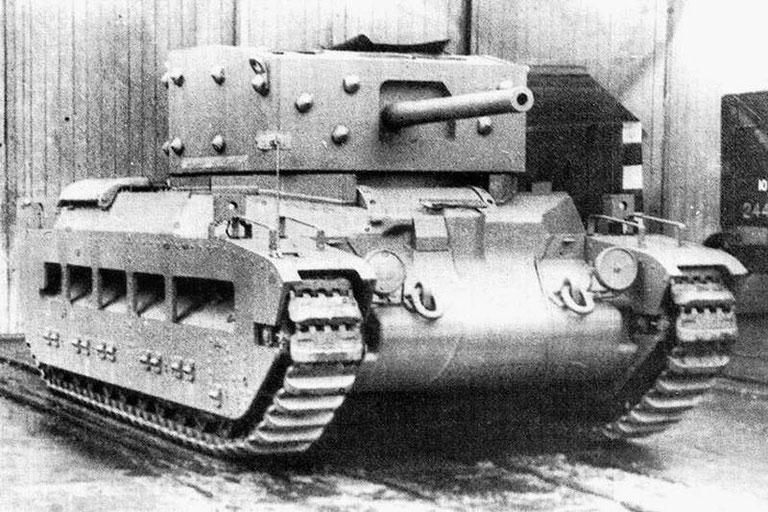 Le montage du canon de 57 mm via une autre tourelle est incompatible avec une production en série