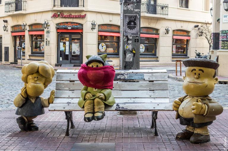 Mundschutzpflicht - Mafalda machts vor