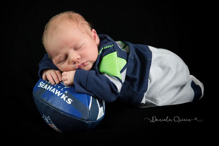 Ein kleiner Seahawks Fan