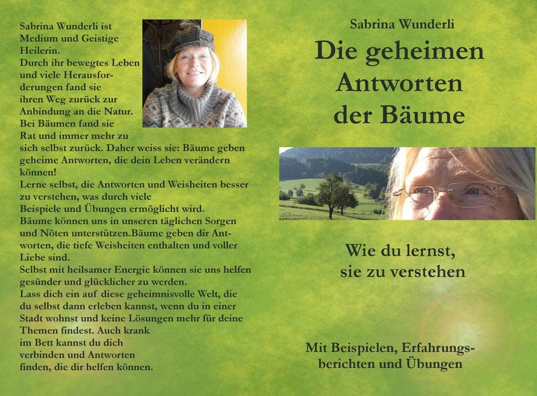 Amazon, Buch, Mit Bäumen kommunizieren, Die geheimen Antworten der Bäume, wie du lernst, sie zu verstehen, Mit Bäumen sprechen, Sabrina Wunderli