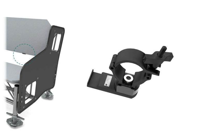 OnTruss Siesta BackSupport - Schelle zur Sicherung der Rückenlehne