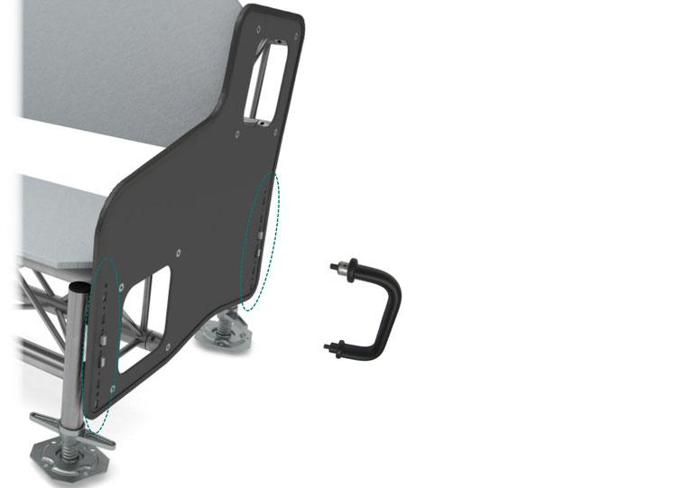 OnTruss Siesta Leg ReleaseTool - Werkzeug zum Lösen der Füße (Leg Basic & Leg Premium) von der Seitenplatte