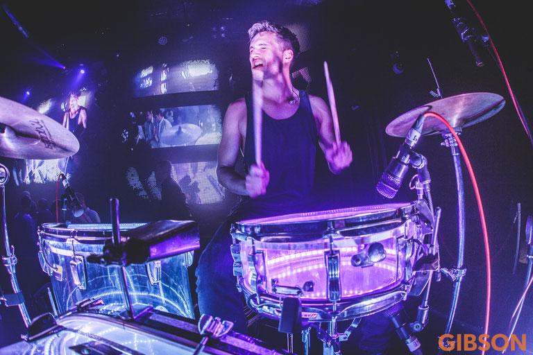 Jan Ole Jönsson Drummer Frankfurt Gibson Club