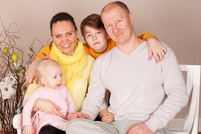 Familienfotos Studio Hamburg Bergedorf Ostern