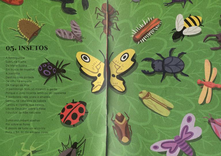 Kinderbuch mit CD Piquenique de Palavras von Marcelo Schmidt