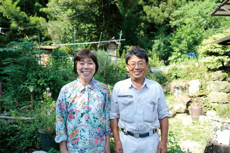 野中久美子さん(左)、明さん(右)ご夫婦