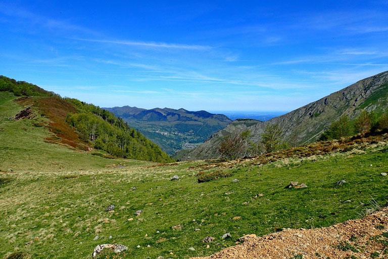 Vers le Plateau du Benou.