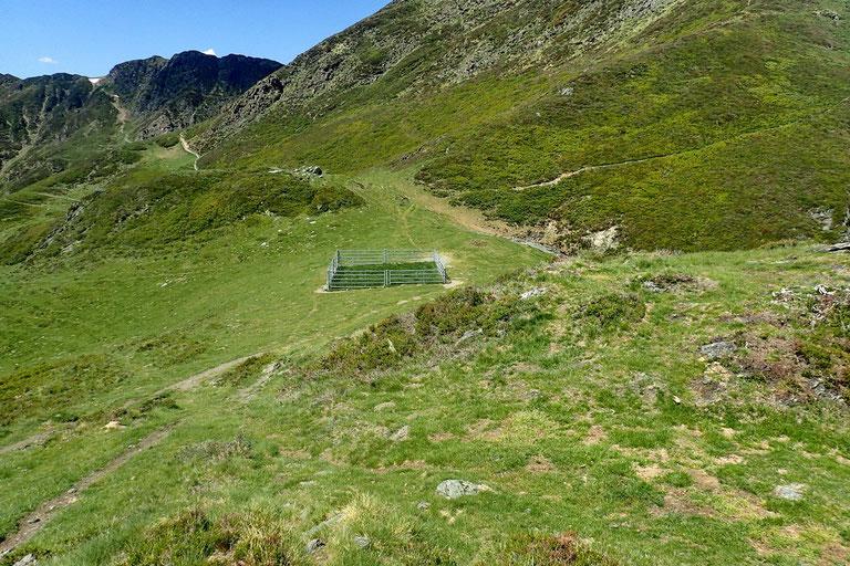 Le Col de Culentous (1740m).