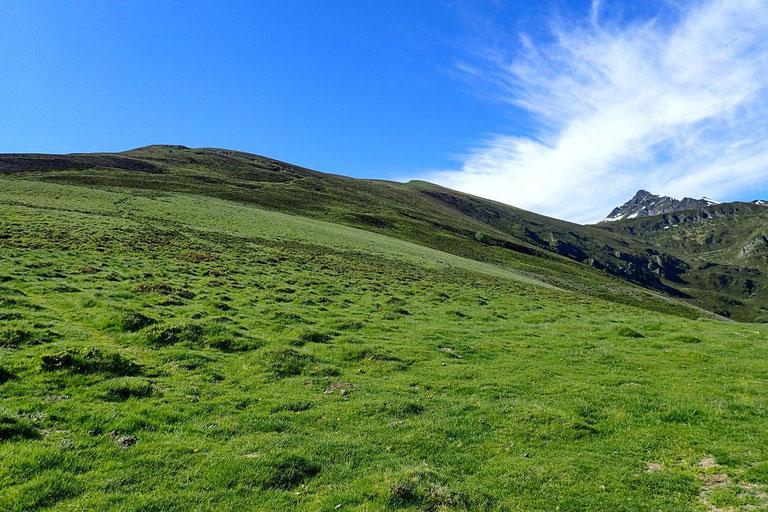 A peu près au centre, le sommet La Peyre.