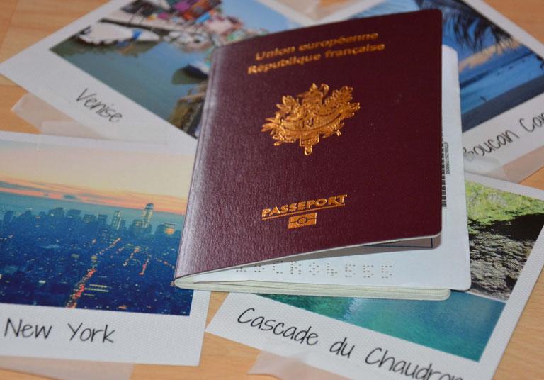 passeport - tour du monde
