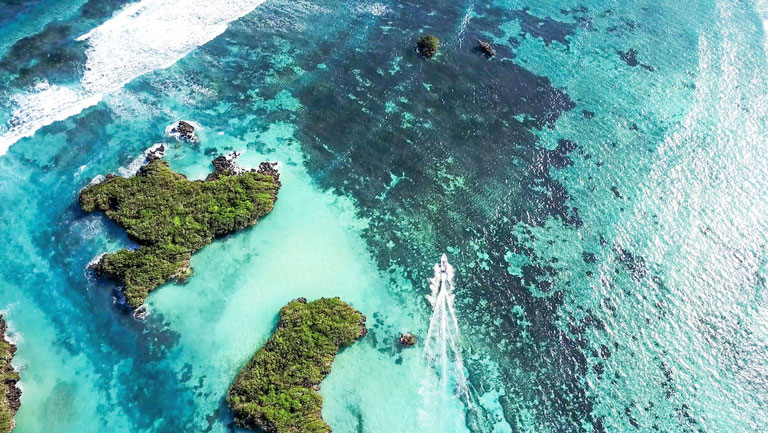 Fly fish The Seychelles, FFTC.club saltwater destination, Coastline of Cosmoledo Atoll, Fly fish the best saltwater destinations at the Seychelles.