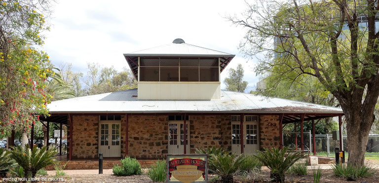 Adélaïde House, Alice Springs