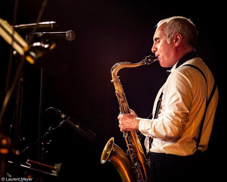 Laurent Meyer, saxophoniste, jazz, volver events