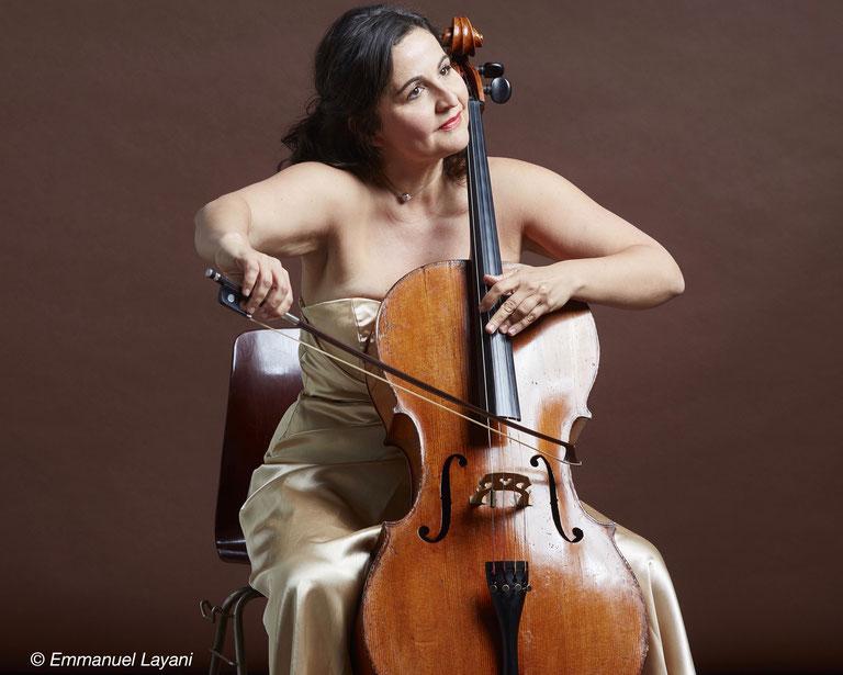 Juliana Laska, violoncelliste, classique, volver events