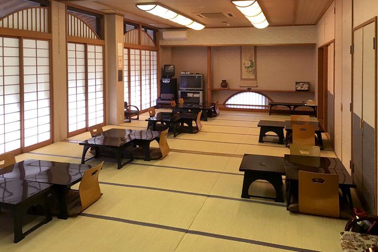 袋田の滝 悠久の宿 滝美館 宴会場
