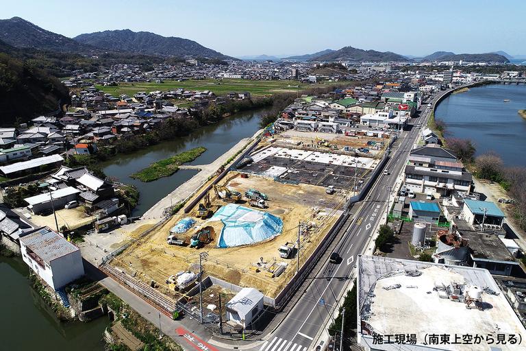施工現場(2021年3月)