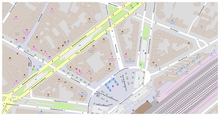 Arras Gare - Boulevard Faidherbe