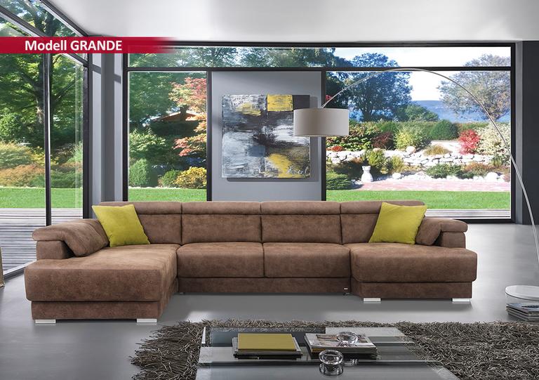 SEDDA Grande Sitzgarnitur - Topsofa Möbel zu Spitzenpreisen