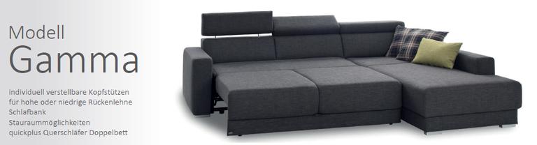 SEDDA Gamma - Topsofa Möbel zu Spitzenpreisen