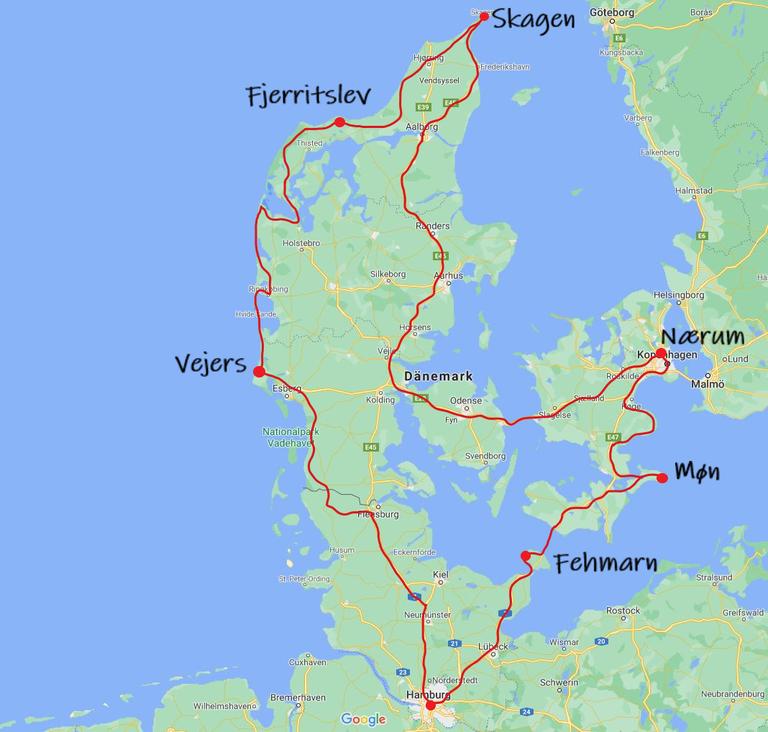 Bulli Roadtrip Dänemark 10 Tage
